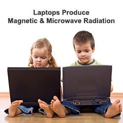 laptop radiation and emf exposure